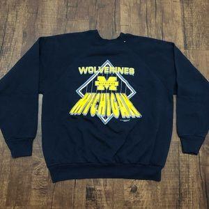 Vintage Michigan Wolverines Crewneck